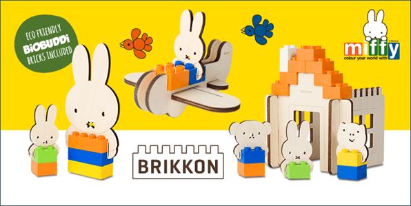 Nijntje Brikkon bouwsets