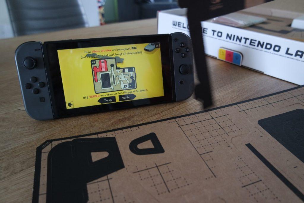 Nintendo Labo bouwen