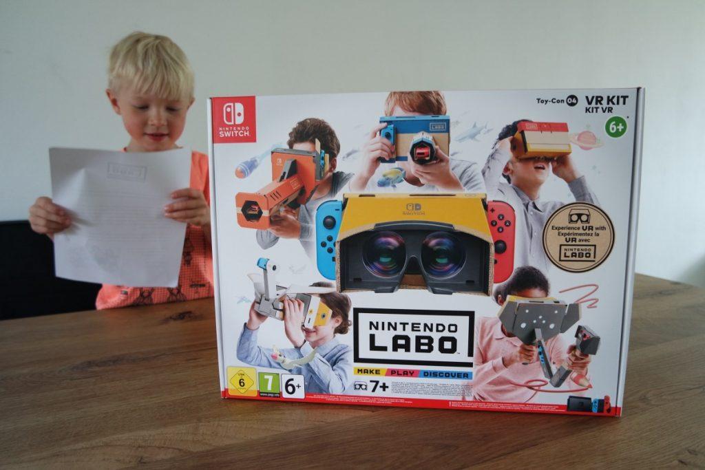 Nintendo Labo VR Nintendo Switch