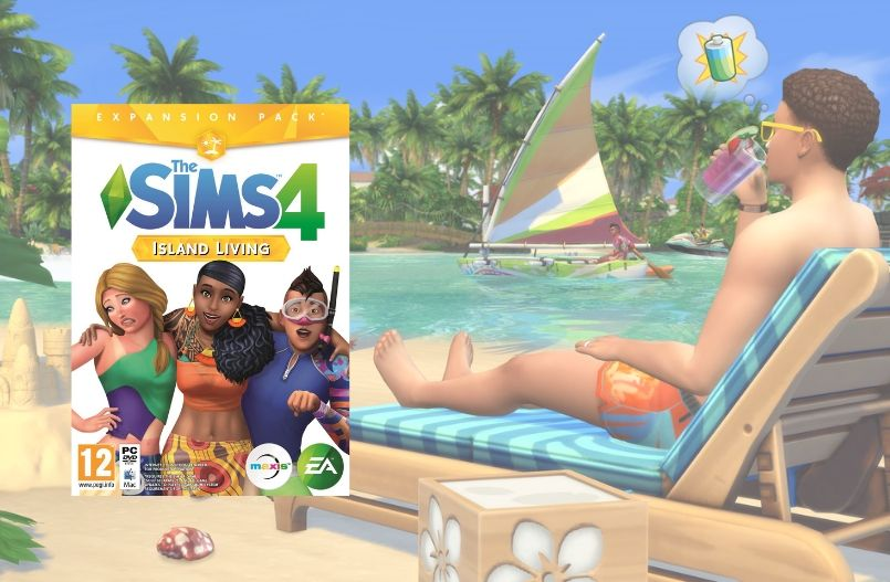 The Sims 4 Eilandleven
