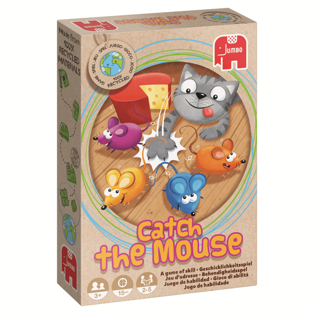 Ecologische spellen: Catch The Mouse Jumbo