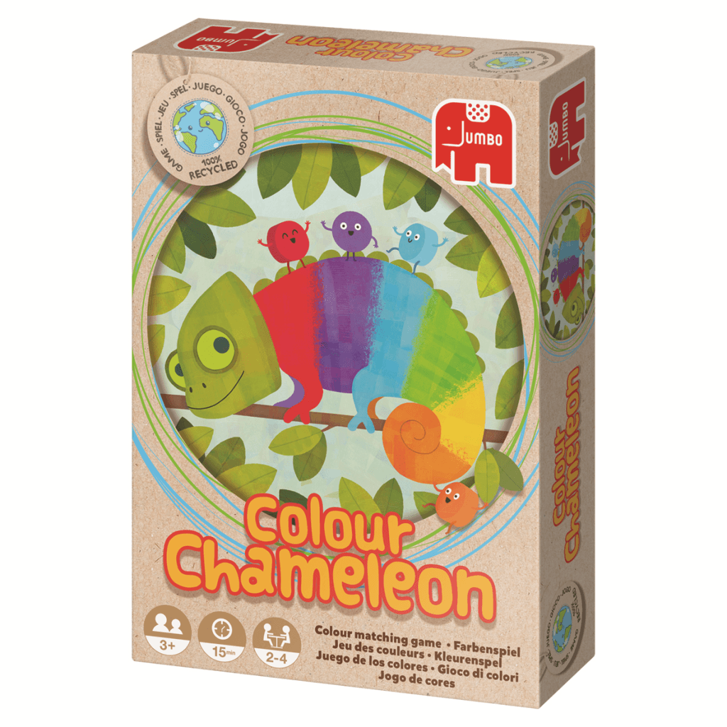 Ecologisch spel: Color Chameleon Jumbo