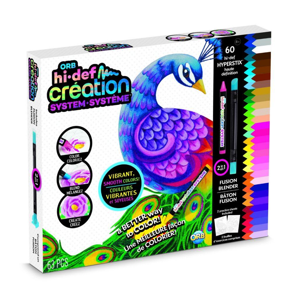 HI-DEF creation system basisset