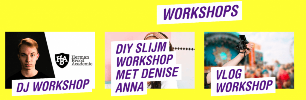 Workshops - Nickelodeon Familie Festival