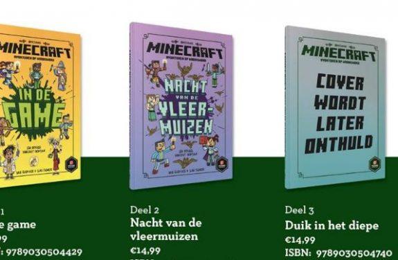 Minecraft fictieboeken