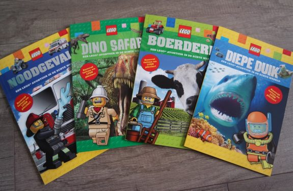 Educatieve LEGO boekjes