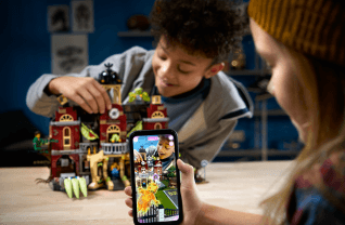LEGO the Hidden Side Augmented Reality Spel