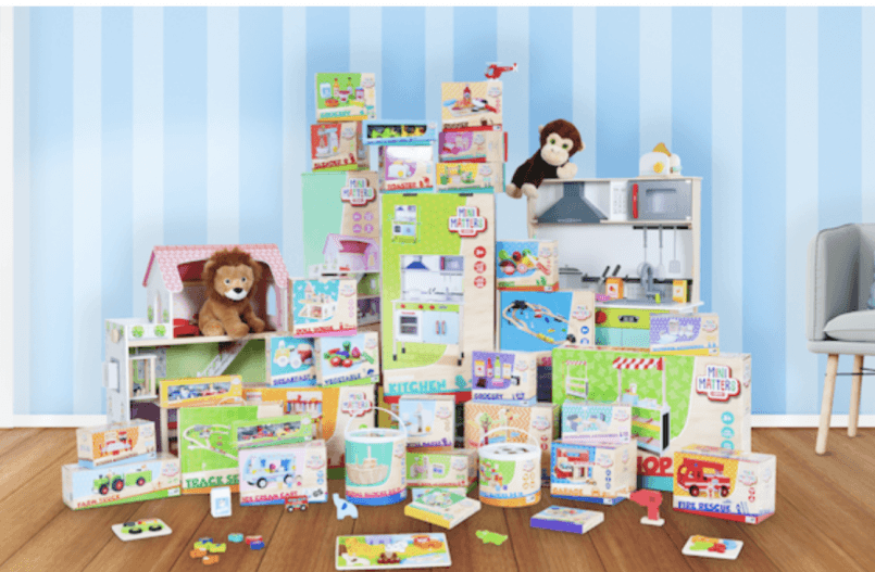 Speelgoed bij de Action Mini Matters