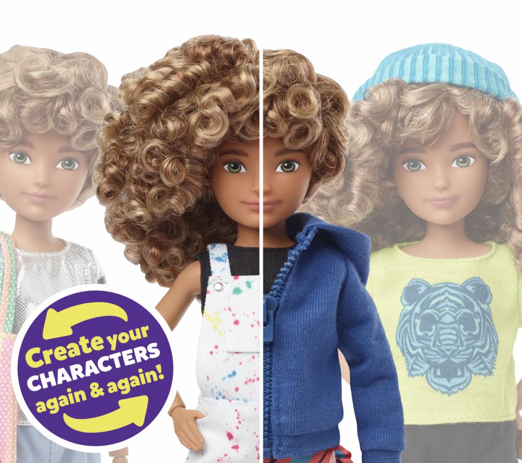 Creatable World poppenlijn van Mattel