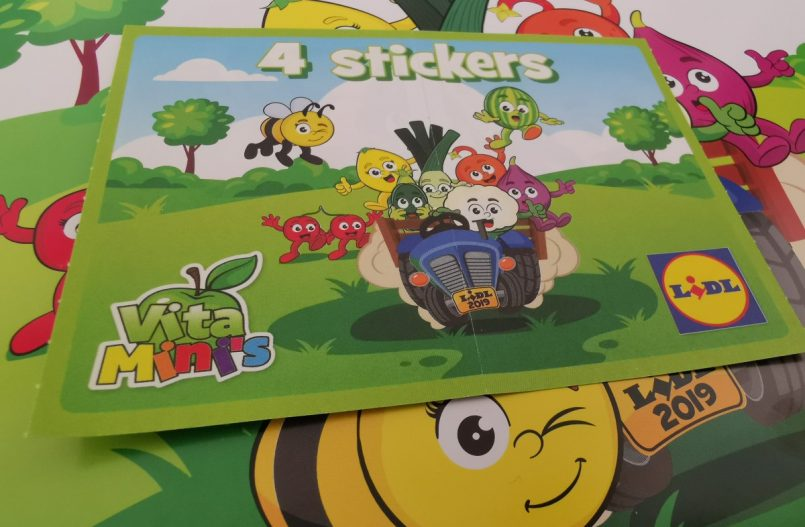 VitaMini's stickers