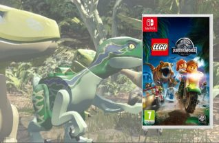 LEGO Jurrasic World voor de Nintendo Switch
