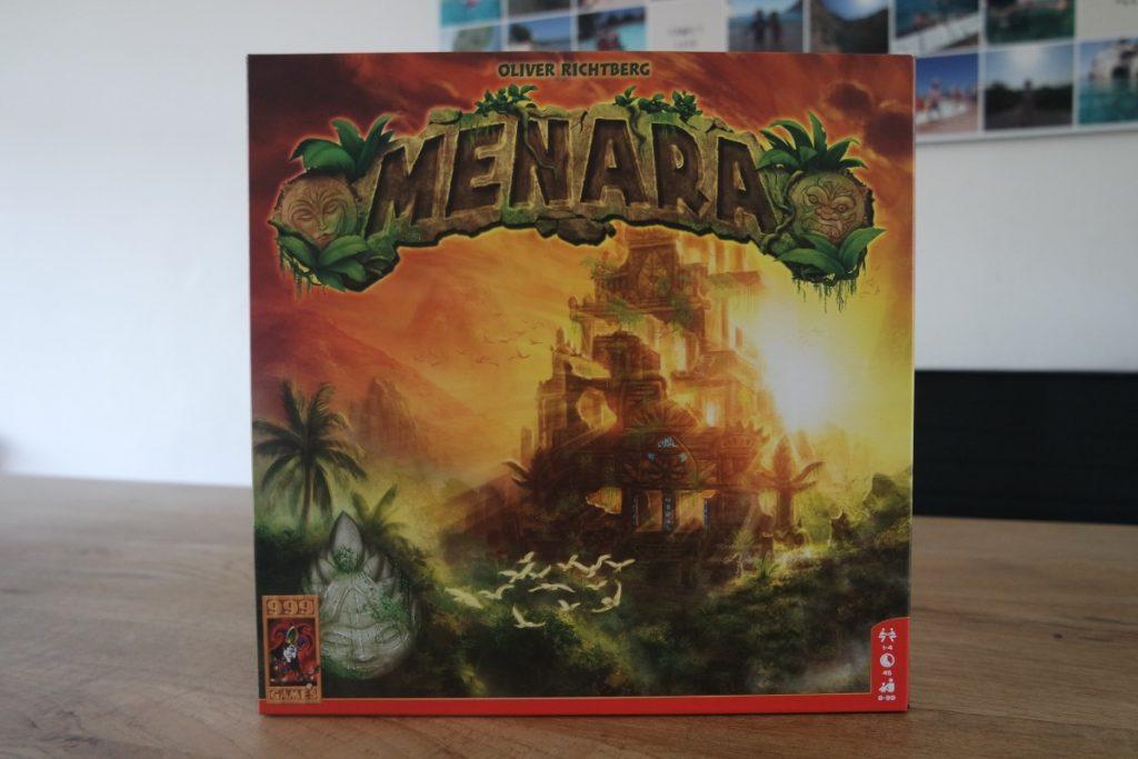 Het bordspel Menara