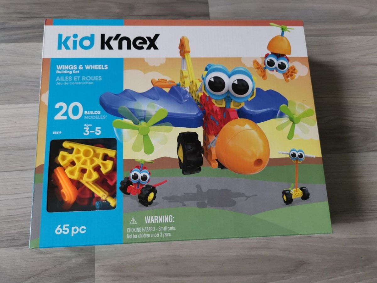 Kid K'nex - Wings & Wheels Building