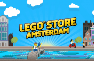 LEGO Store in Amsterdam