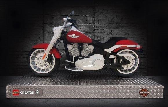 LEGO Harley Davidson Fat Boy