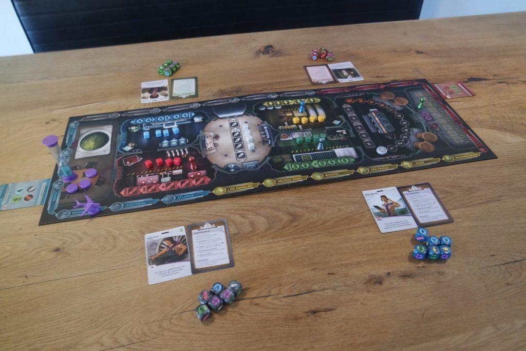 Pandemic Rapid Response - start van het spel (