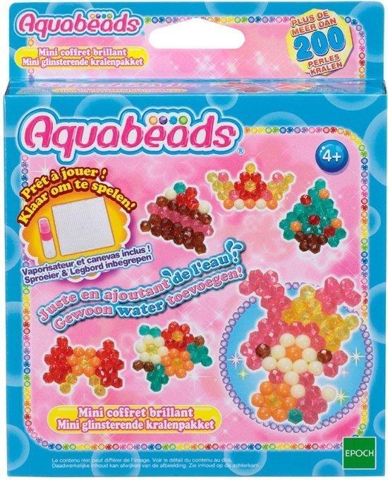 Aquabeads Mini Glinsterende Parelpakket
