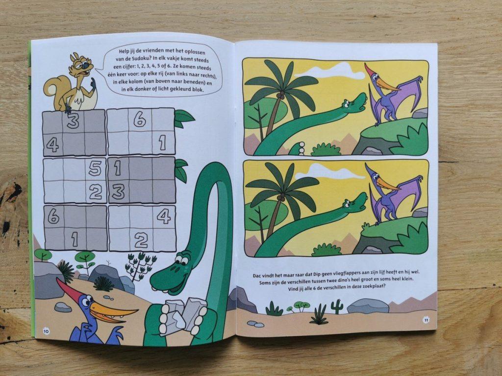 Denksport Super Dino Doeboek