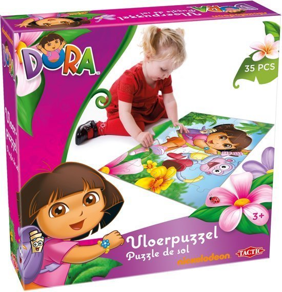 Dora Vloerpuzzel - 35 Stukjes