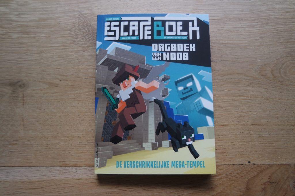 Escape boek Dagboek van een noob