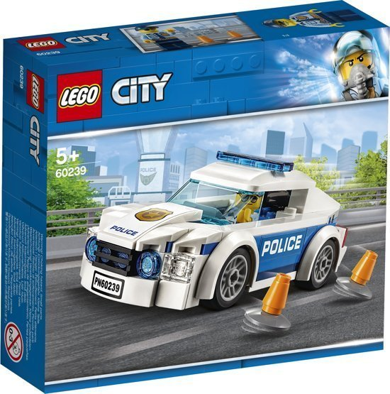 De leukste speelgoed schoencadeautjes - LEGO City Politiepatrouille Auto - 60239