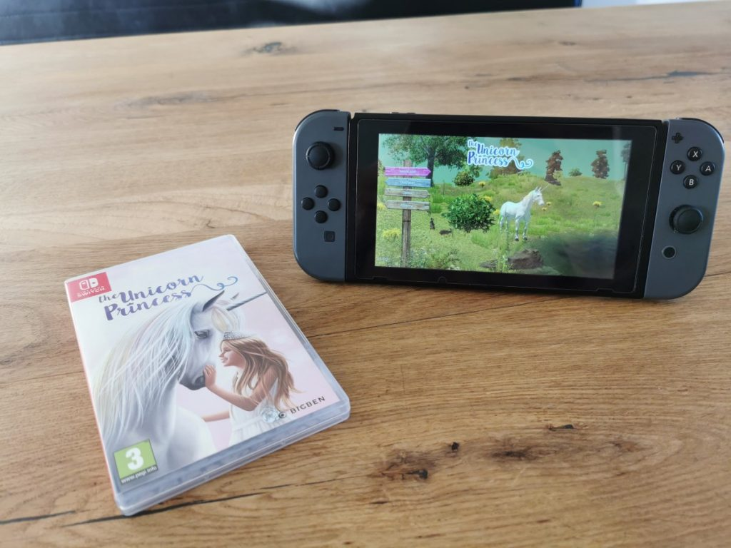 The Unicorn Princess Nintendo Switch