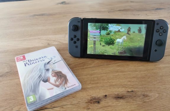 The Unicorn Princess Nintendo Switch