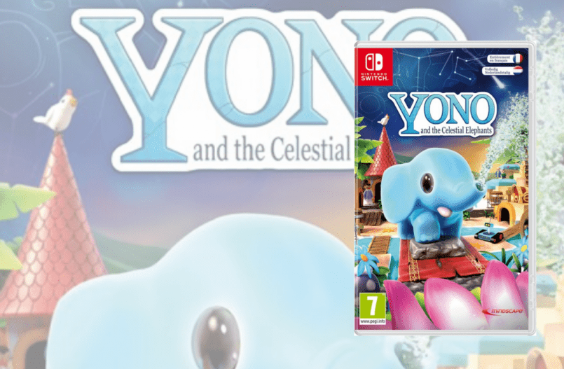 Yono and the Celestial Elephants voor de Nintendo Switch