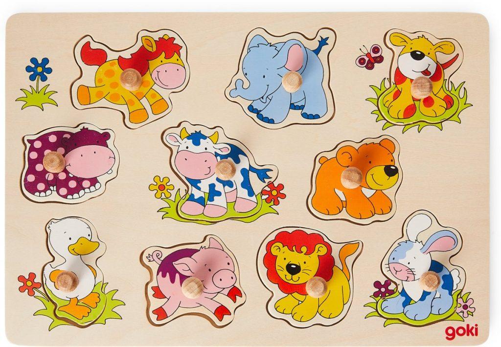 Houten kinderpuzzels