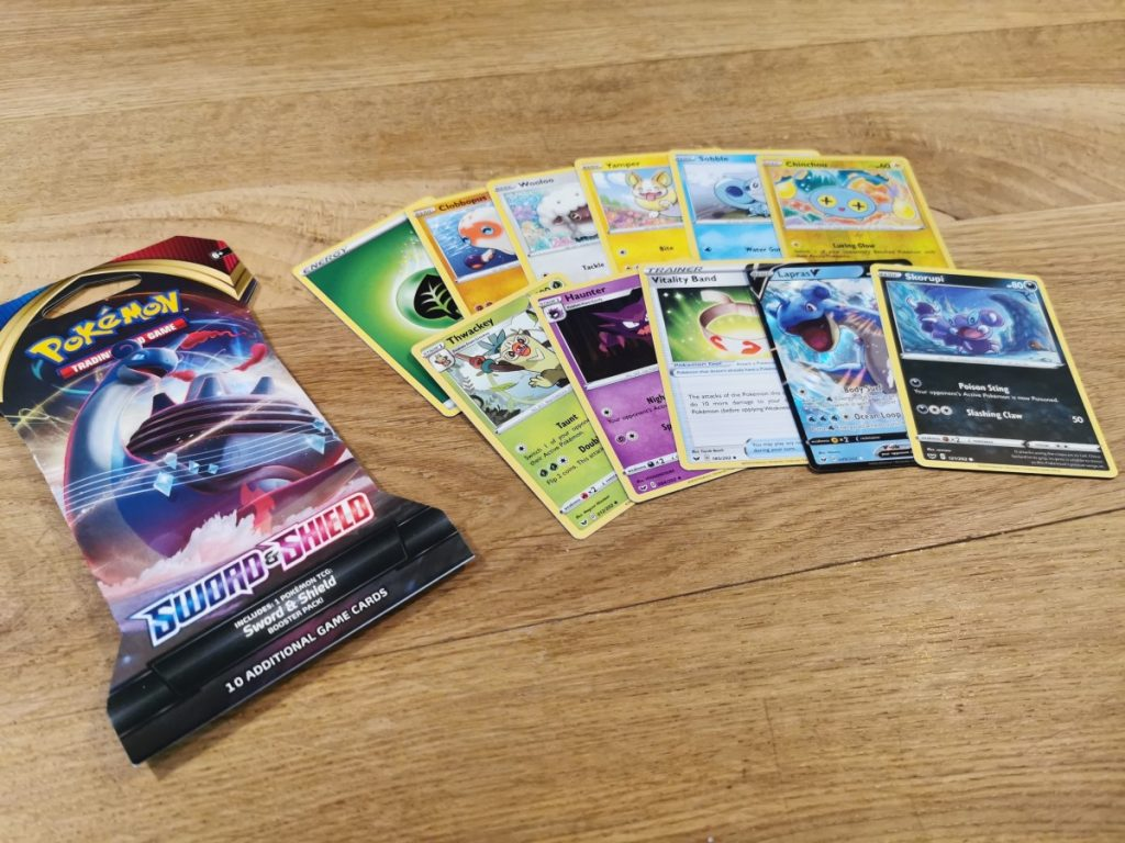 Pokemon Sword and Shield boosters