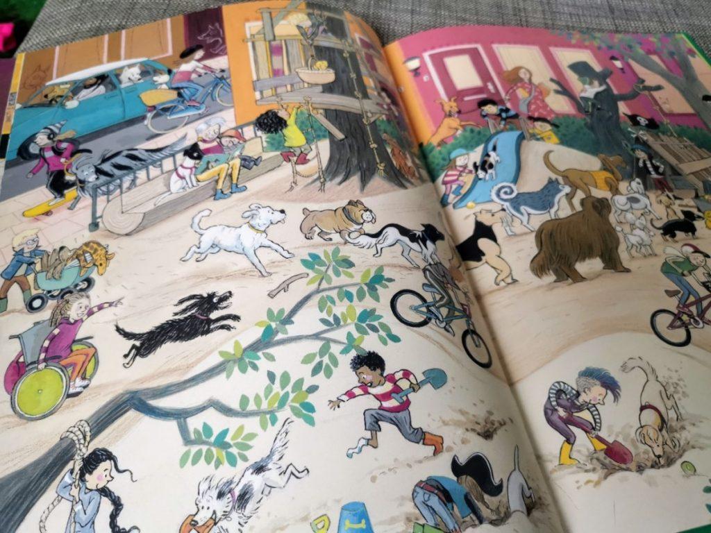Zoek alle honden in dit leuke zoek- en kijkboek 'Zoek!' van Saskia Halfmouw 4