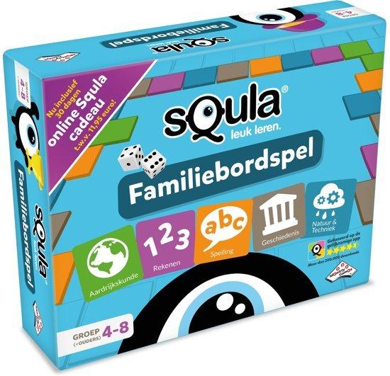 Educatieve spellen - het Squla bordspel