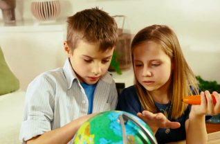Educatieve spellen - interactieve wereldbol van Tiptoi