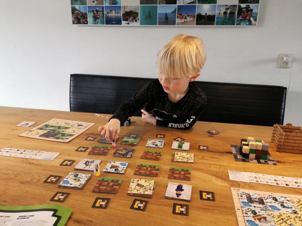 Het Minecraft bordspel