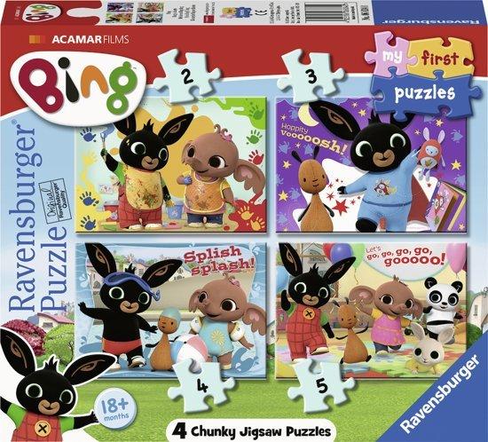 Ravensburger Bing Bunny - My First puzzels - cadeau 2 jaar