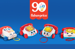 Fisher-Price bestaat 90 jaar