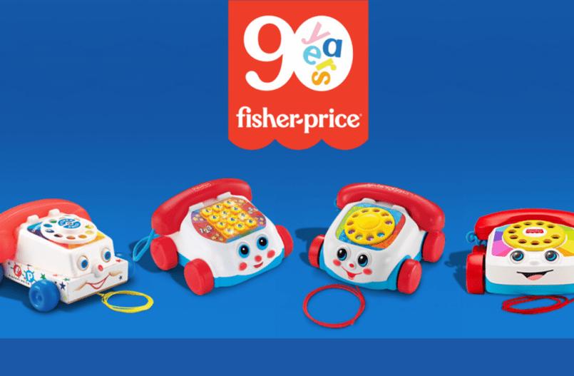 Fisher-Price bestaat 90 jaar