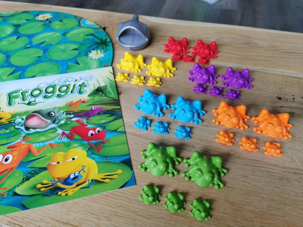 Froggit - de inhoud