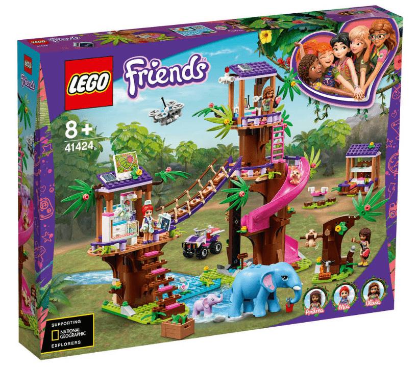 De nieuwste LEGO bouwsets - LEGO Friends Jungle reddingsbasis 41424