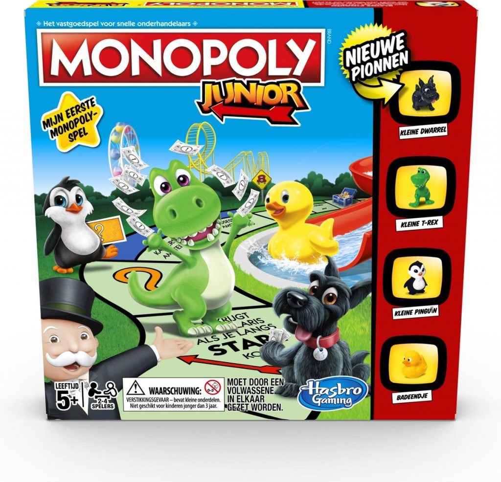 Monopoly Junior - cadeau kind 4 jaar