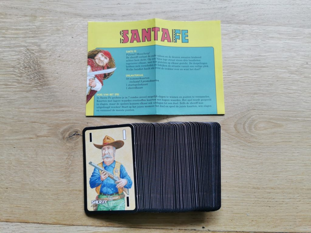 Santa Fe - de inhoud