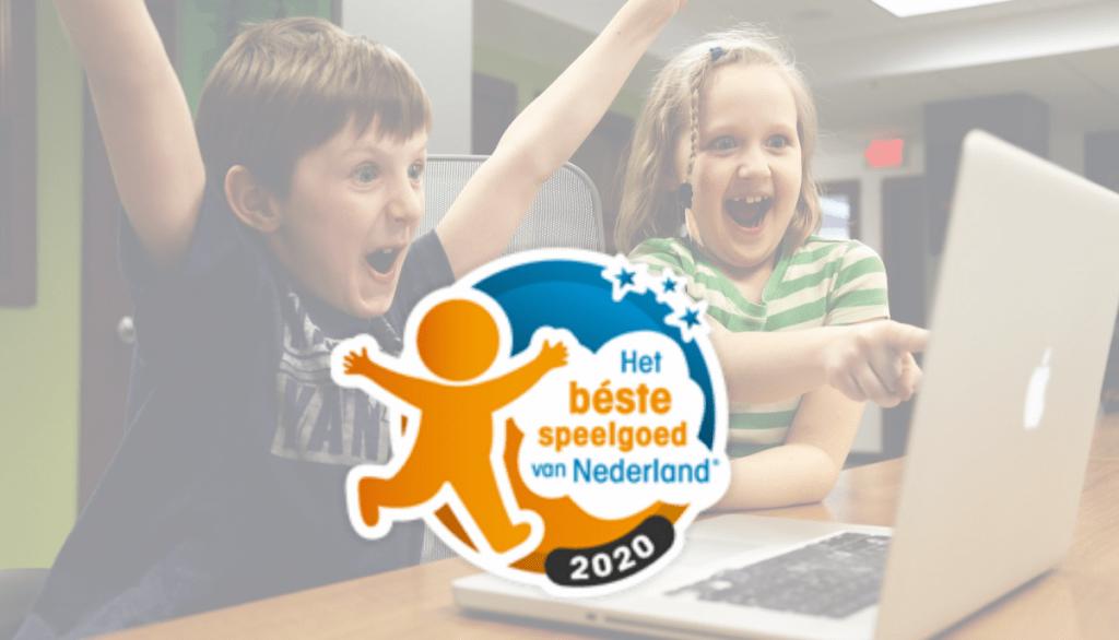 Verkiezing Het Beste Speelgoed van Nederland 2020