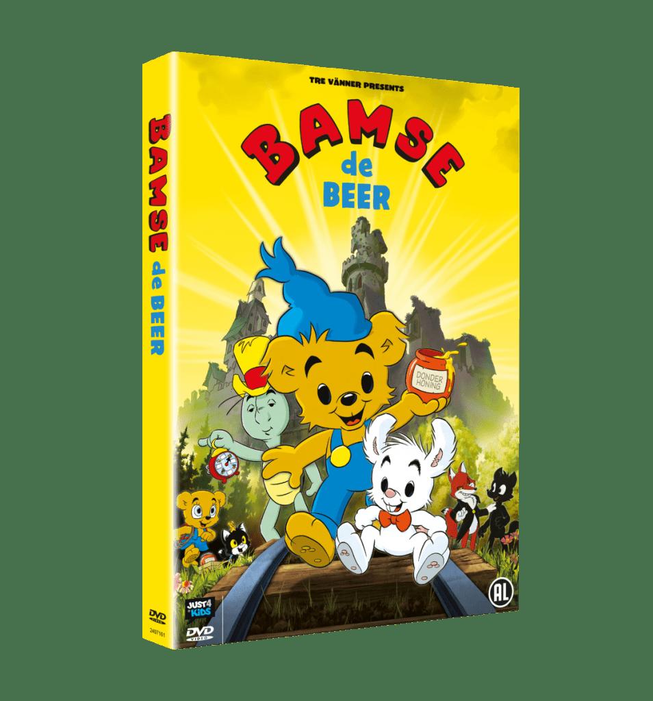 Bamse de Beer op dvd