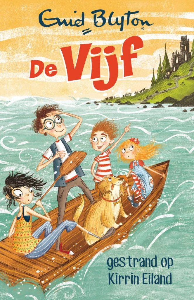 Kinderboek - de Vijf - Gestrand op Kirrin Eiland