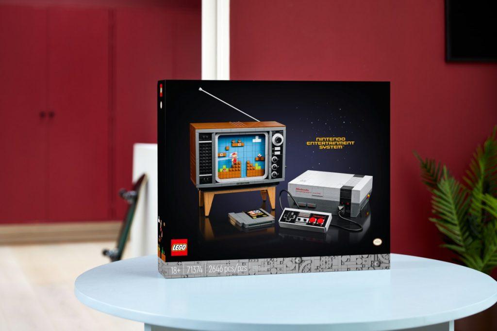 LEGO NES spelcomputer