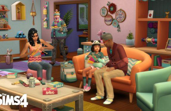 Sims 4 - Uitgebreid Breien accessoirespakket