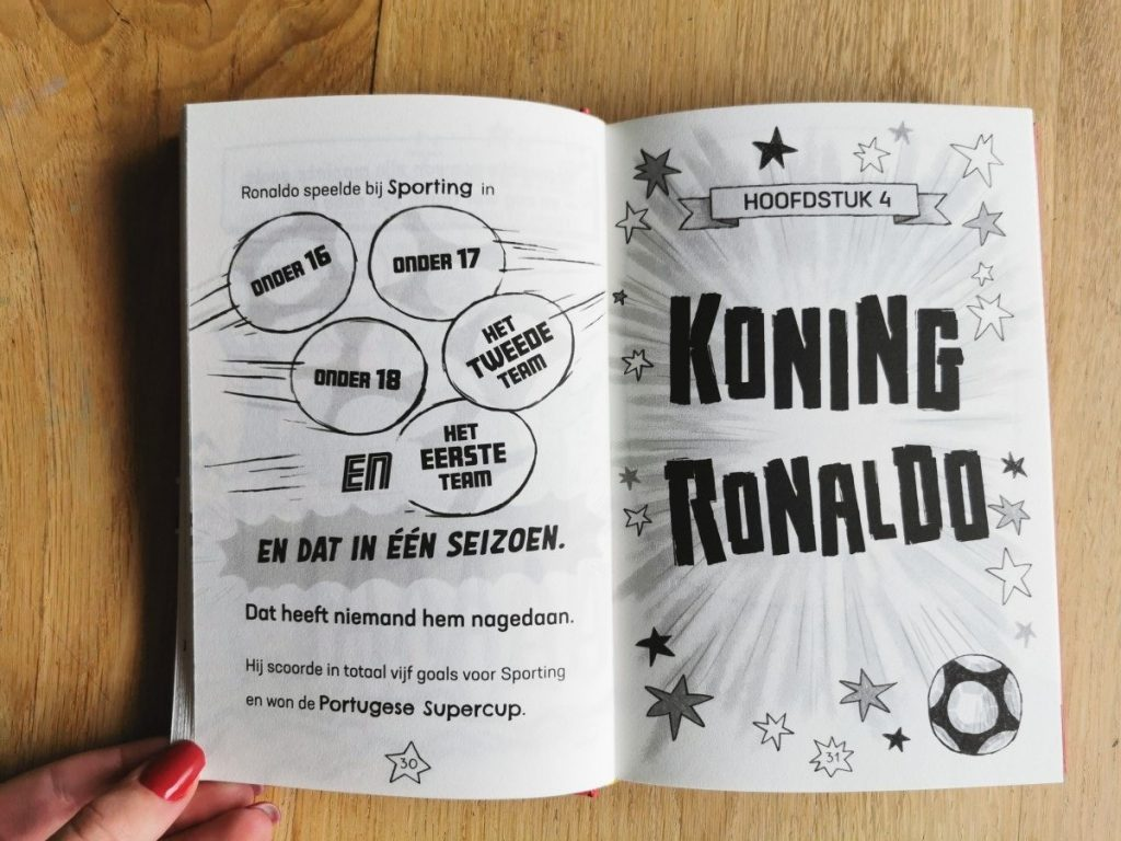 Voetbalboek Ronaldo