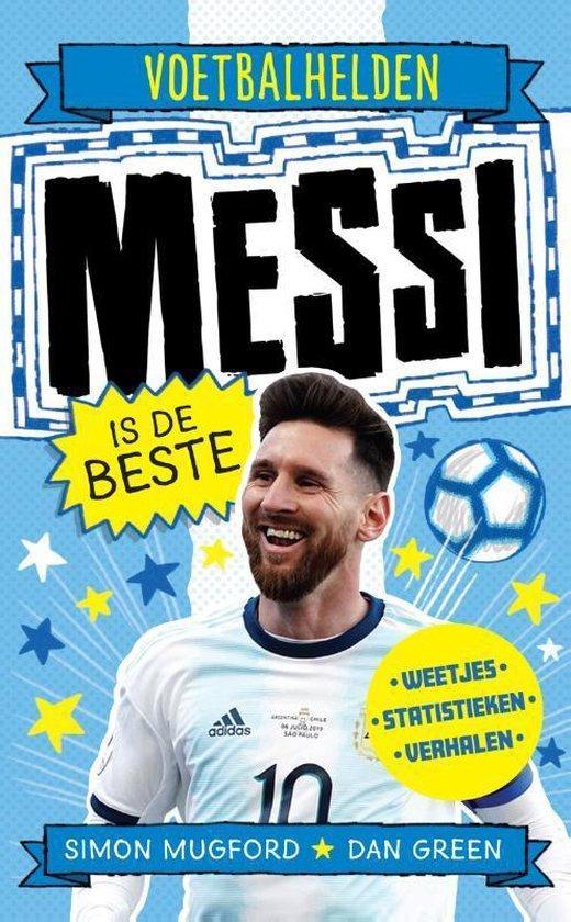 Voetbalhelden - Messi is de beste - Voetbalboeken