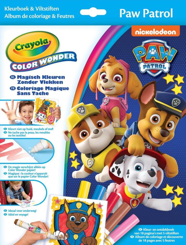 Crayola Color Wonder Paw Patrol - Kleurboek