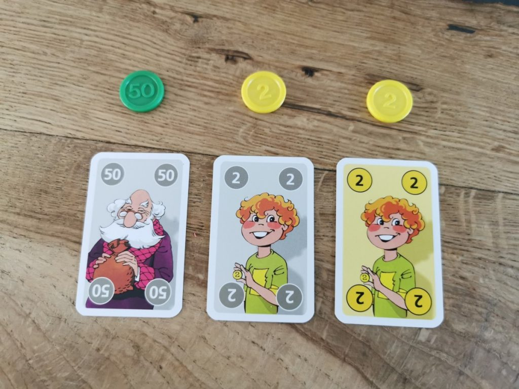 Familie Poen kaartspel